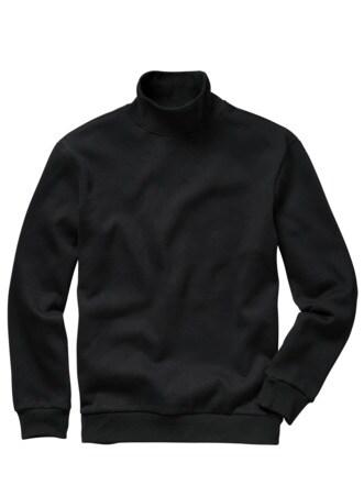 Zeit-Raum-Sweatshirt schwarz Detail 1