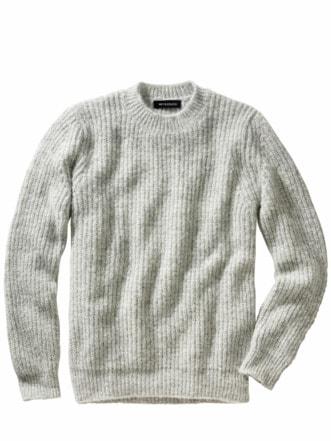 Amigo-Pullover hellgrau Detail 1