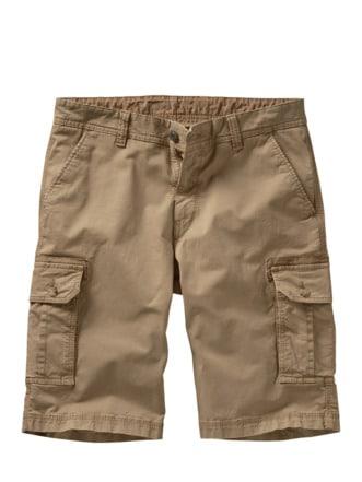 Frachtgut-Cargo-Shorts quarzsand Detail 1