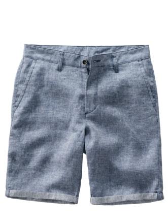 Luftzufächeln-Shorts hellblau Detail 1