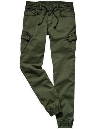Jogg-Cargo-Pants khaki Detail 1