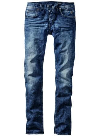 Blue-Jeans indigoblau Detail 1