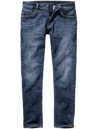 Bitcoin-Jeans blau Detail 1