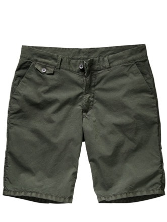 230-Gramm-Shorts moosgrün Detail 1