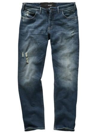 (Un)kaputtbare Jeans used blue Detail 1