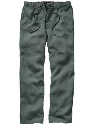 Cuba-Pants salbei Detail 1
