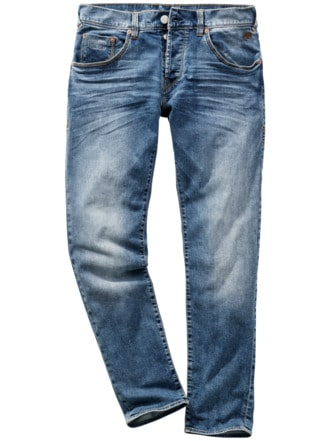 Urban Cowboy-Jeans blue mid used Detail 1