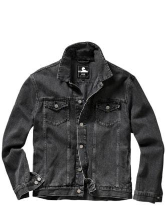 EDWINs Trucker Jacket grau Detail 1