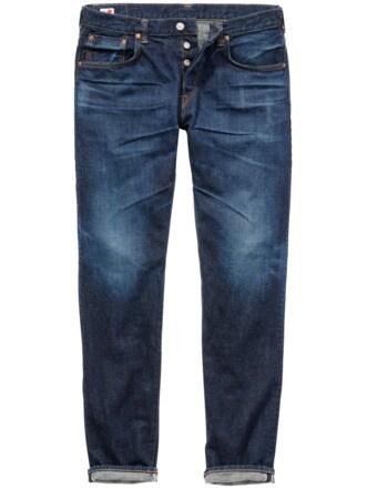 Edwin Selvage Jeans dark denim Detail 1