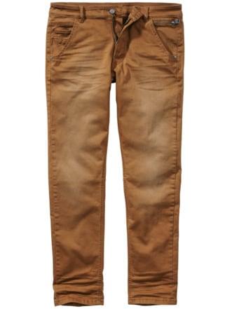 Die etwas andere Jeans camel Detail 1