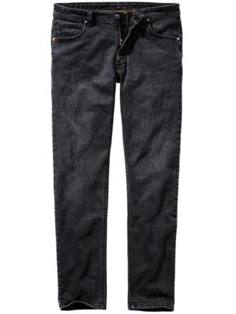 No-Blue-Jeans nachtgrau Detail 1