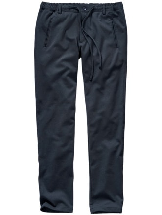 Brillante Joggpants tiefblau Detail 1