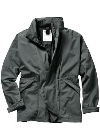 Wide Jacket grau Detail 1