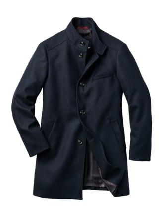 Lifetime-Mantel marineblau Detail 1