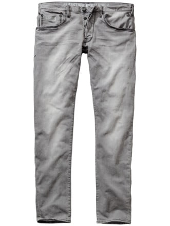 Grey-Jeans Trade washed grey Detail 1