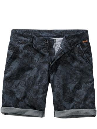 Hibiskus-Shorts denim Detail 1