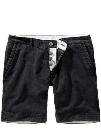 Glückauf-Shorts anthrazit Detail 1
