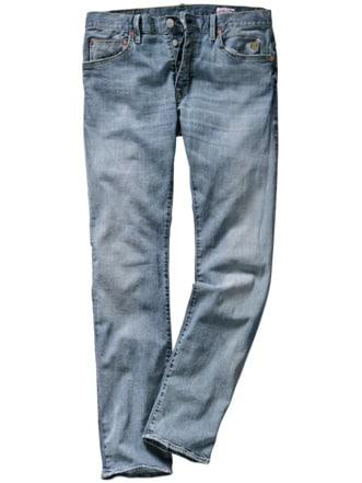 Heritage-Jeans vintageblau Detail 1