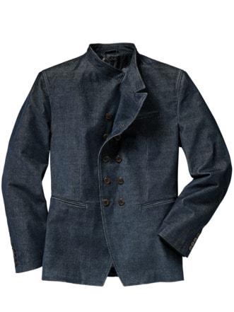 Mayfair Jacket blau Detail 1