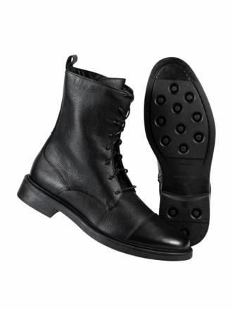 Streetworker-Boot schwarz Detail 1