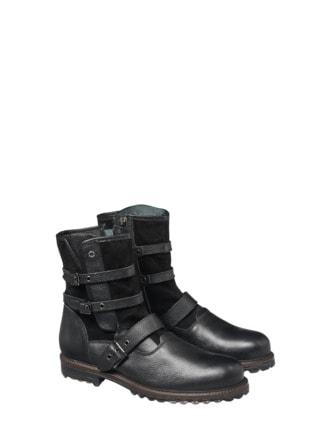 Buckle Boot Schwarz Detail 1