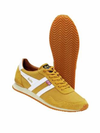 Trainer Sneaker gelb Detail 1