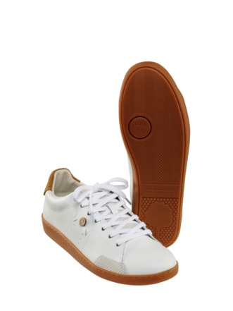 Sneaker Hosta weiß/natur Detail 1