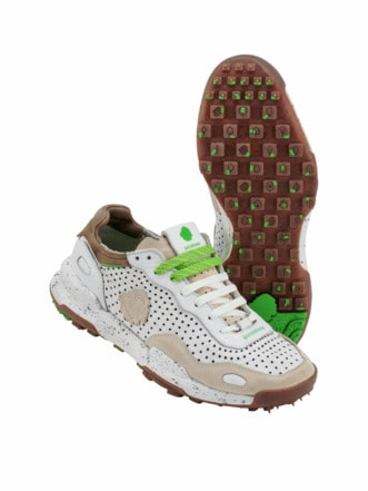 Recycled Sneaker laser white Detail 1