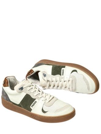 Sneaker Ceiba altweiß/grün Detail 1