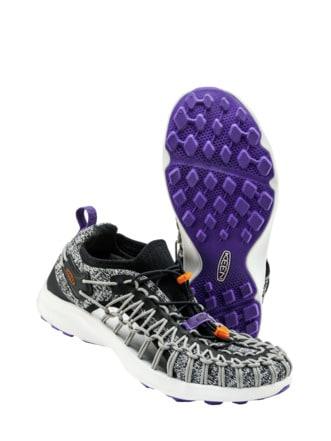 Upcycled UNEEK Sneaker grau Detail 1