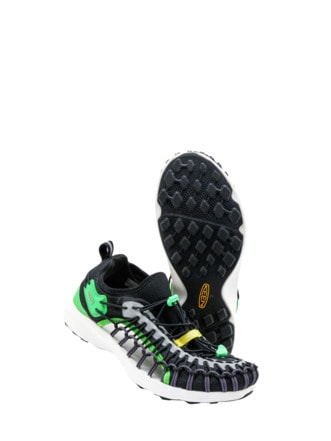 Upcycled UNEEK Sneaker grün Detail 1