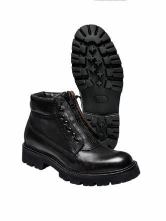 Gordons Zipp Boot schwarz Detail 1