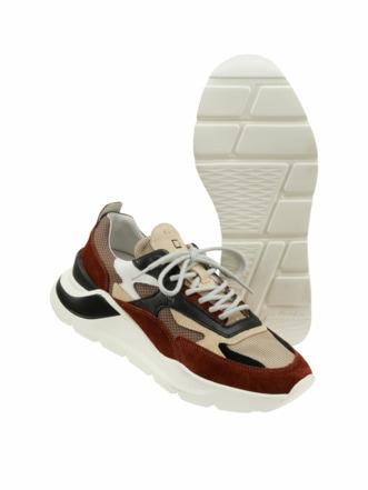 Sneaker Fuga dandy brown Detail 1
