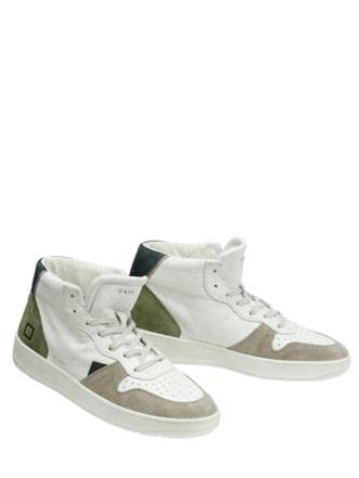 High Top Sneaker Court weiß Detail 1