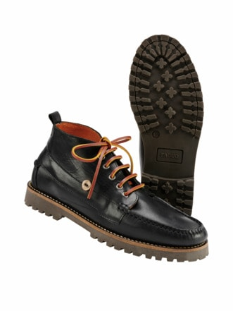 Moc Boot FAGUO schwarz Detail 1