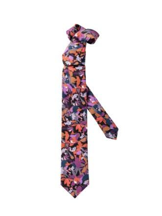 Liberty Krawatte violett Detail 1