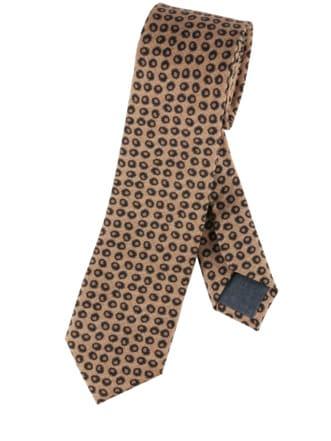 Stufe-höher-Krawatte sand/schwarz Detail 1