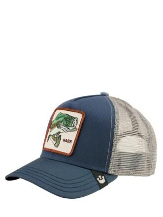 Farmer Cap Barsch hellblau Detail 1