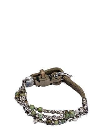 Urzeit-Armband silber Detail 1