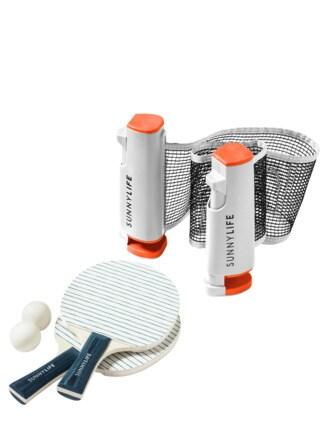 Ping Pong-Set weiß Detail 1