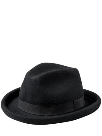 Homburger Hut schwarz Detail 1