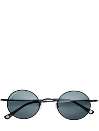 John Lennon Sonnenbrille schwarz Detail 1