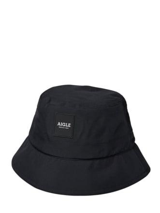 Bucket Hat schwarz Detail 1