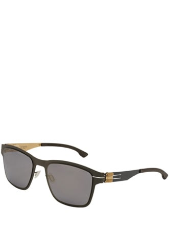 Sonnenbrille Hasenheide grau Detail 1