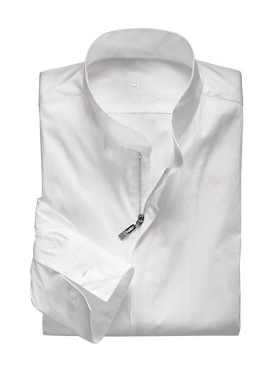 Designer-Reißverschlusshemd