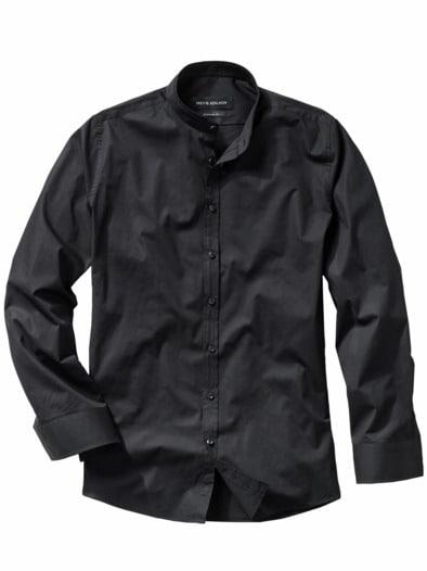 Piping-Hemd Regular Fit