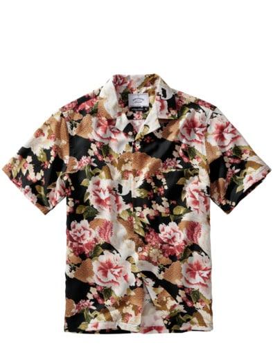Handelsrouten-Hemd