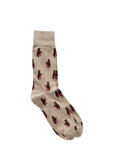 Bärenhunger-Socke