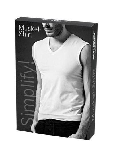 Simplify Muskel-Shirt Einzelpack