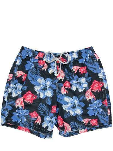 Red Fish Shorts